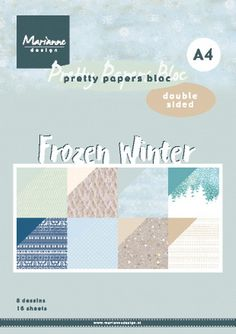 Marianne Design, Winter Theme, Paper Size, First Names, Scrapbook Paper, Stencil, Frozen, A4, Pretty