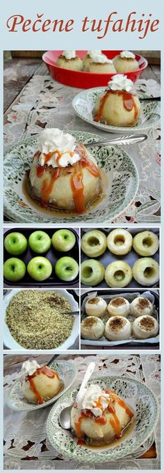 Gaga u kujni: Pečene tufahije My Recipes, Cooking Recipes, Kolaci I Torte, Croatian Recipes, Cake Cookies, Nom Nom, Sweet Tooth, Bakery, Deserts