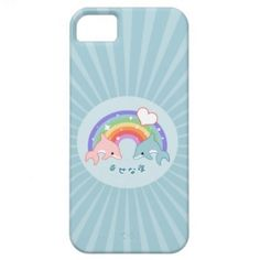 Cute Baby Dolphins iPhone 5 Covers