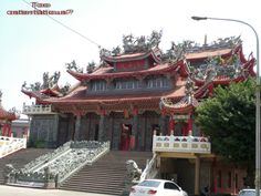 Typical Chinese Daoist temple, Hsinchu