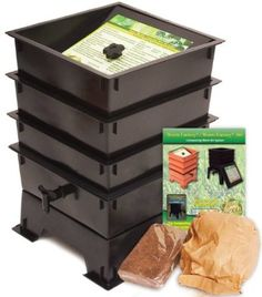 Worm Factory DS3GT 3-Tray Worm Composter! For jnibs compost