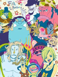One Piece Fish Men/Women