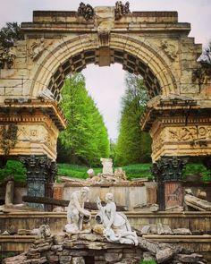 Schönbrunn Palace, Vienna, Austria …