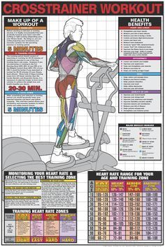 Crosstrainer Workout - Cardio Fat Burning Sixpack Abs Exercise - Yeah We Train ! Cardio Training, Muscle Training, Weight Training, Strength Training, Sport Fitness, Fitness Tips, Health Fitness, Mens Fitness, Cardio Fitness