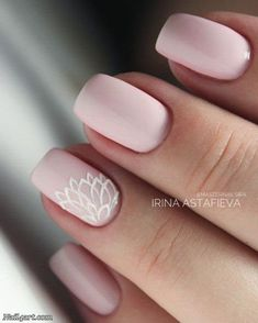 66 Elegant Lace Nail Art Designs 2018 - nail4art