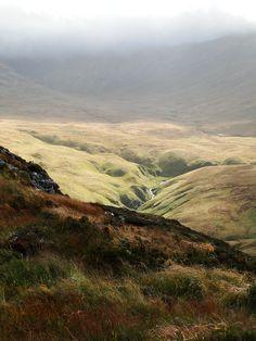 Diamond Hill, National Park of Connemara, Ireland