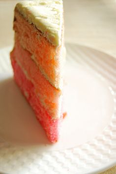 pink cake by 80 Breakfasts, via Flickr