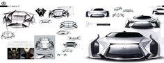 2039 Lexus Aero-Flagship on Behance Woong Gyu Han