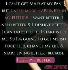 I Deserve Better www.shanelcoopersykes.com