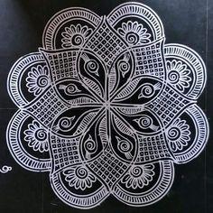 Simple Rangoli Designs Images, Full Hand Mehndi Designs, Rangoli Designs Flower, Free Hand Rangoli Design, Rangoli Border Designs, Rangoli Designs Diwali, Rangoli Designs With Dots, Bridal Mehndi Designs, Kolam Rangoli