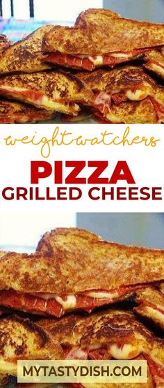 Pizza Grilled Cheese weight watchers freestyle smart points friendly Sometimes, we're so hungry that we don't have time to cook. The best option is Weight Watchers Pizza, Weight Watchers Lunches, Weight Watchers Smart Points, Weight Watcher Dinners, Kid Friendly Weight Watchers, Weight Watchers Restaurant Points, Weight Watcher Wraps, Weight Watchers Appetizers, Ww Recipes