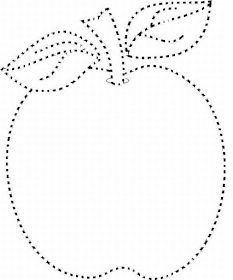 Fise de lucru - gradinita: PLANSA cu FRUCTE Punctate - Mar punctat - Para punctata - Pruna punctata - Gutuie punctata Preschool Coloring Pages, Autumn Crafts, Preschool Activities, Dog Tag Necklace, Worksheets, Learning Activities, Colors, Apple, Templates