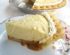 Recipe for Rum Cream Pie at the Innes Department Store's tea room in Wichita, Kansas.
