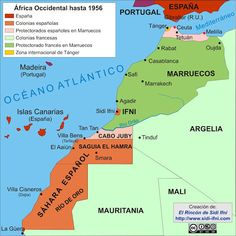 130 Ideas De Antiguo Sahara Español Marruecos Marruecos Español Colonias Españolas