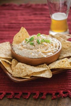 Beer Cheese Dip - hehe I added 1 can of old english and only used about 3/4 the ranch packet (maybe less next time) + sprinkle of garlic salt