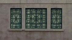 Window on the Charleston Historical Society building.