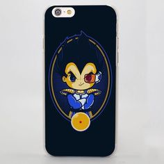 Dragon Ball Vegeta Saiyan Cute Chibi Design iPhone 4 5 6 7 Plus Case  #DragonBall #Vegeta #Saiyan #Cute #ChibiDesign #iPhone7Case
