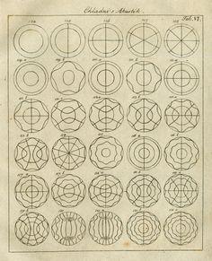 File:Chladni 1830 Akustik Table 6.jpg Chladni, father of acoustics, vibrating plates