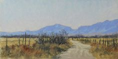 "Dirt Road by Jeri Salter Pastel ~ 6"" x 12"""