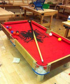 Rack'em up Shqipe, Albanian style!