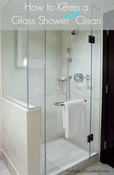 Ideas For Bathroom Shower Doors Ideas Half Walls Bathroom Remodel Shower, Trendy Bathroom, Bathroom Makeover, Shower Cleaner, Shower Doors, Glass Shower Enclosures, Bathrooms Remodel, Bathroom Design, Bathroom Redo