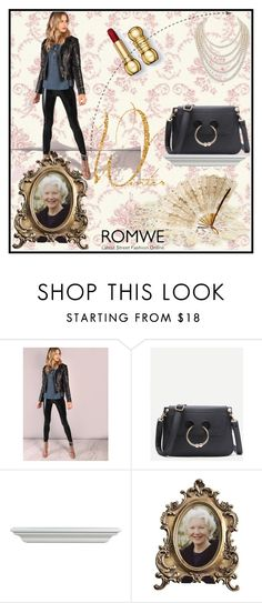 """Romwe"" by loveliest-back ❤ liked on Polyvore featuring Ralph Lauren and DaVonna"