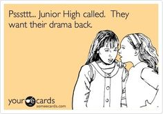 For those moms that get involved with there kids drama!