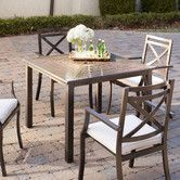 Endicott Dining Table, Square #birchlane