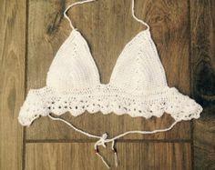 Bikini de ganchillo por dancinapes en Etsy