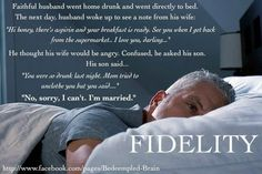 Fidelity  We should all be so lucky