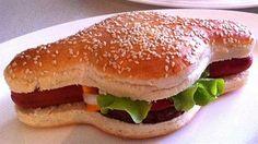 ¿#Hamburguesas o #hotdog? No sufras más aqui esta el nuevo #Hamdog