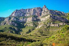 Monsterrat Mountain from Monistrol de Montserrat