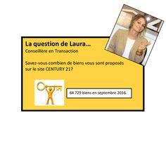 La question de Laura ? - Conseillère en Transaction -
