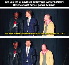Samuel L. Jackson is awesome.