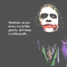 Heath Ledger  quote from the Dark Knight Dark Knight Quotes, Dark Quotes, Best Joker Quotes, Badass Quotes, Awesome Quotes, Movie Quotes, True Quotes, Quotes Quotes, Heath Ledger Quotes