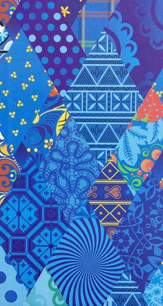How I love these colors and patterns! The Olympic patchwork quilt pattern | Sochi 2014 Winter Olympics