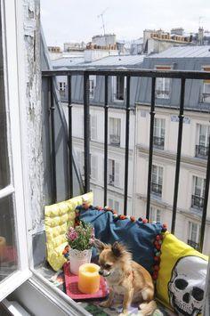 Marie's Tiny Parisian Balcony