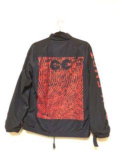 Cav Empt Cav Empt Coach Jacket Size M $184 - Grailed Cut Shirts, Streetwear Brands, Shirt Designs, Street Wear, Like4like, Food Instagram, Graphic Sweatshirt, Street Style, Nihon