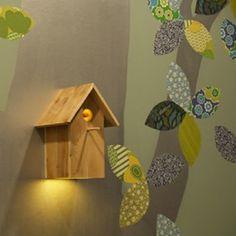 Vogelhuis lamp