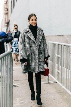 Streetstyle NYFW 2017©️️ vía Vogue Spain