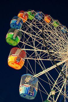 Twilight Ferris Wheel