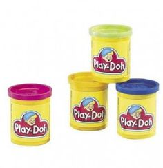 I love the way play-doh smells!!