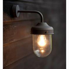 Barn Lamp Wall Light In Coffee Bean