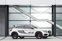 Voorproefje in LA: Mercedes Concept GLA45 AMG