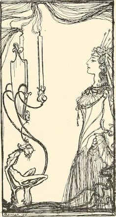 The Fairy Tales of the Brothers Grimm, illustrated by Arthur Rackham, 1916.. Abecedarian : Restoring the Lost Sense
