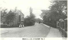 Bramhall Lane - the house is the former Oriel Bank Girls School