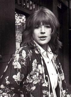 Rare photo of Marianne Faithfull in Amsterdam Marianne Faithfull, Rare Photos, Amsterdam, Punk, Glamour, Singer, Instagram, 1970s, Women