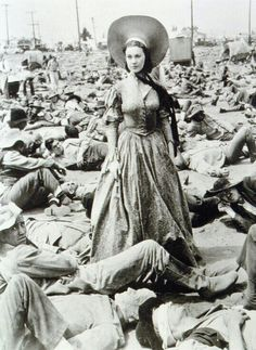 Scarlett O' Hara looking for Dr. Meade
