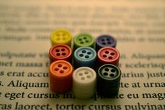 button plugs- SO cute. i want to make them!