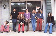 lynyrd skynyrd 1970's   LYNYRD SKYNYRD   70's Musicians to Modern Day Musicians   Pinterest